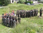 cadets-from-rossett-platoon-wrexham-are-joined-by-french-cadets-in-july-2011-to-remember-william-lloyd-killed-underground-on-19-december-1915