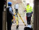 laser-scanning-at-the-entrance-to-w-adit-june-2012