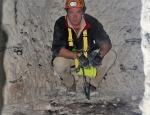 peter-barton-in-w2-mine-chamber-80ft-below-no-mans-land-the-floor-was-carpeted-with-sandbags