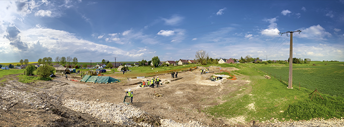 La Boisselle Site May 2012 - please click on image. Panorama will launch in a new window.