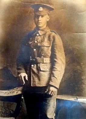 Soldat Harry Carter, 10ème Bataillon du Essex Regiment