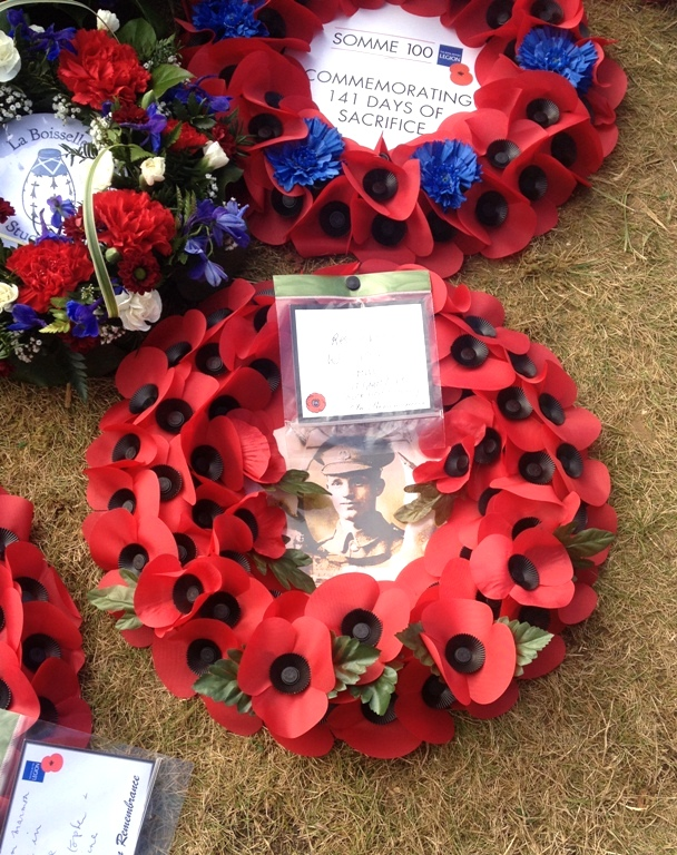 Wreath for William Marmon from his family